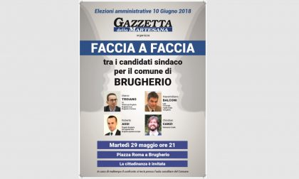 Elezioni comunali 2018 | Martedì 29 maggio il faccia a faccia della Gazzetta a Brugherio