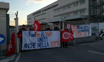 Operai Fedex a Peschiera in sciopero ad oltranza