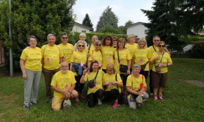 Cassina Fragolosa iniziata la camminata Walk+run