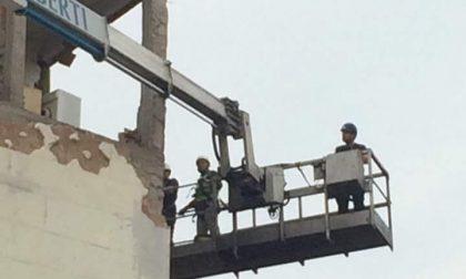 Palazzina esplosa: iniziati i lavori di messa in sicurezza