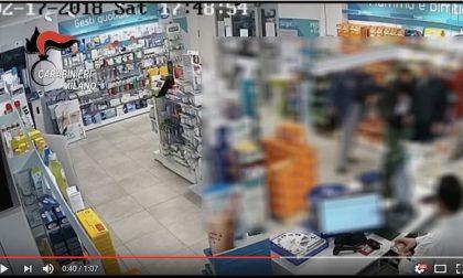 Rapinatori seriali incastrati dalle immagini delle telecamere VIDEO