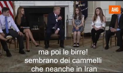 """Trump """"dichiara guerra"""" al Toga Party dei rugbisti - IL VIDEO PARODIA"""