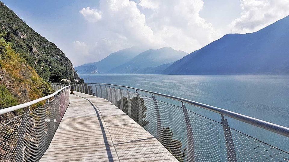 Ciclovia dei sogni sul lago di Garda inaugurazione il 14 luglio