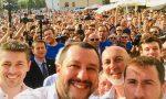 Il ministro dell'Interno Salvini a Cinisello per chiudere campagna elettorale Ghilardi