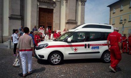 Nuovo furgoncino per la Croce Rossa di Fara: questa mattina il taglio del nastro