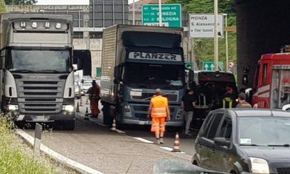 Incidente in Tangenziale Nord: lunghe code e traffico