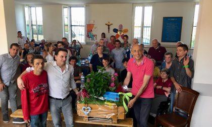 Festa Aga, ospiti e anziani celebrano il sodalizio