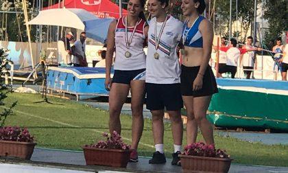Il giavellotto di una melzese vola e conquista il terzo posto ai  Campionati italiani