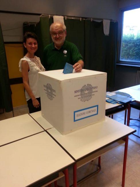 Elezioni comunali 2018 vittorino verdi lista civica impegno in Comune Capriate San Gervasio