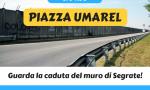 """Una piazza per gli """"umarel"""" per seguire il cantiere"""
