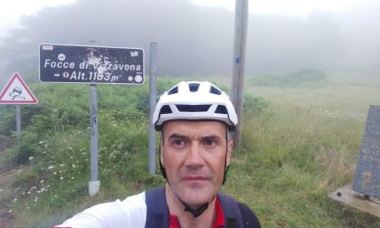 Sindaco ciclista pedala contro lo stress e macina 1300 Km