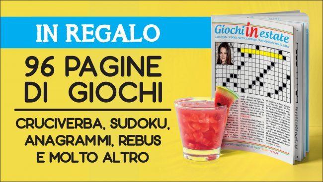 La Gazzetta   regala  GIOCHI IN ESTATE