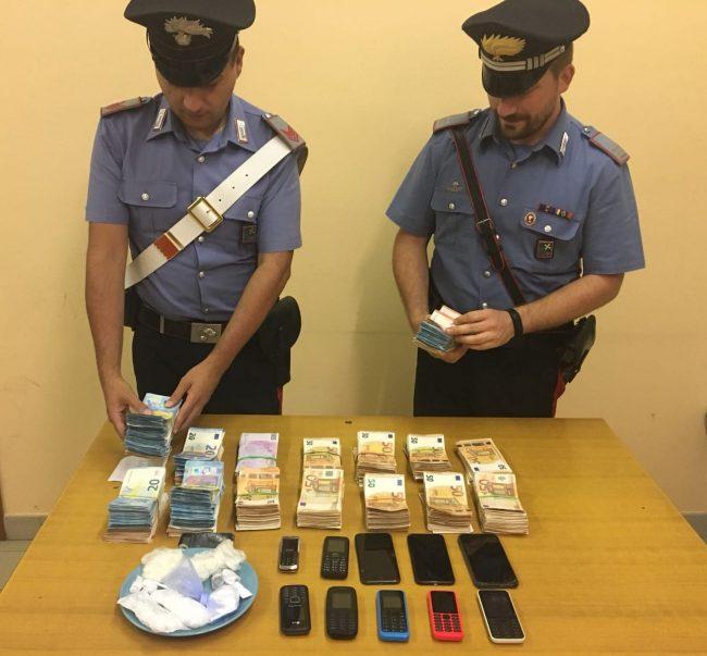 Scoperto bazar della droga a cambiago da carabinieri arrestato un 28enne marocchino