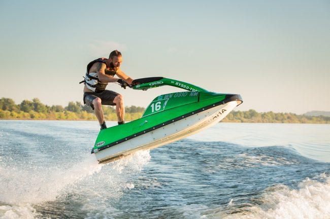 Spettacolo all&#8217&#x3B;Idroscalo con il Campionato Italiano di moto d'acqua