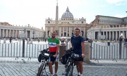 In bici a Roma da Rivolta