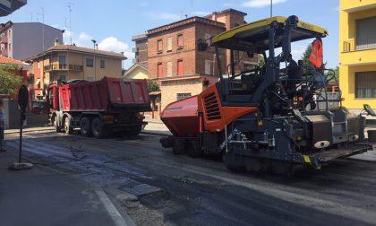 Asfaltature, parte la fase 2: via Monte Grappa chiusa al traffico