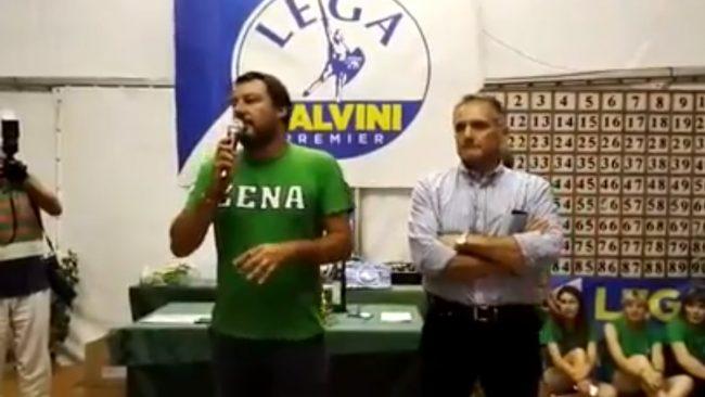 """Salvini a Pontida: """"Genova non resterà una strage impunita"""" VIDEO"""
