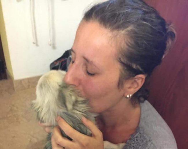 Dopo quasi due anni il Chihuahua Cherry ritorna a casa