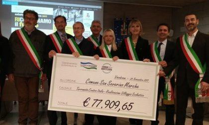 Terremoto Marche inaugurata la scuola donata dall'Adda-Martesana