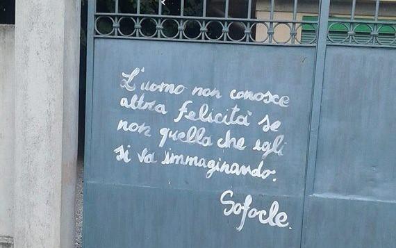 Scritte Romantiche A Vignate Individuati I Due Writers La