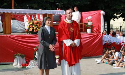 Commosso saluto a don Fabio e suor Flavia, la comunità di Melzo si riscopre unita