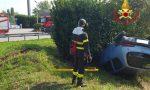 Si ribalta con l'auto, 23enne ferito a Masate