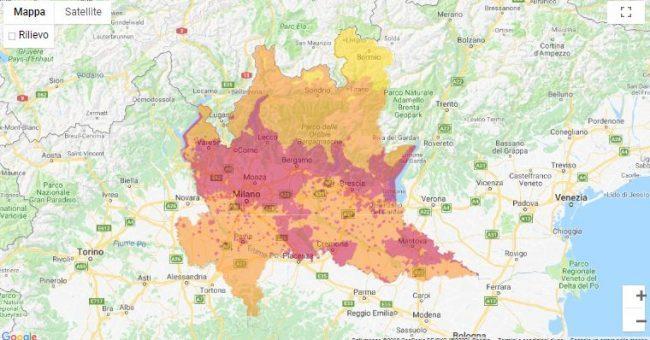 Cartina Inquinamento Lombardia.Cappa Di Smog Respiriamo Veleno I Dati La Martesana