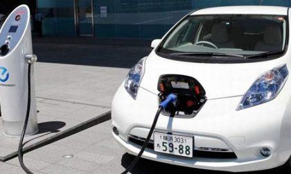 Auto elettriche, dodici colonnine  a Cologno