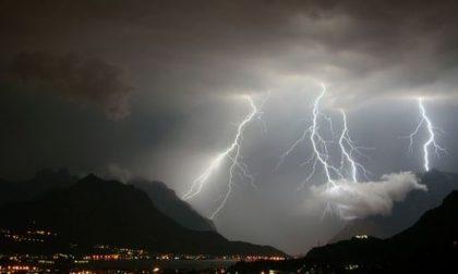 Previsti forti temporali in serata: allerta meteo della Protezione Civile