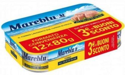 Il Gigante ritira dai supermercati scatolette di tonno Mareblu