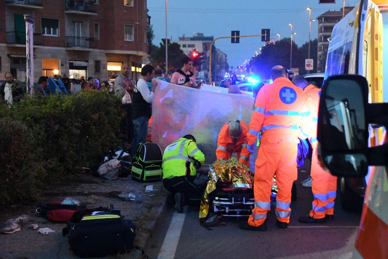 morto il motociclista