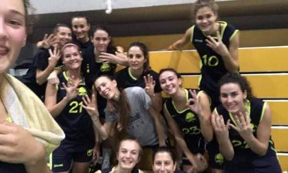 Basket Serie C femminile Melzo 4×4 vola al comando