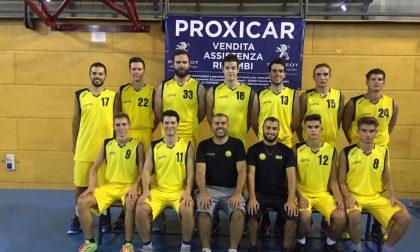 Basket Serie D Cassina paga l'emozione dell'esordio
