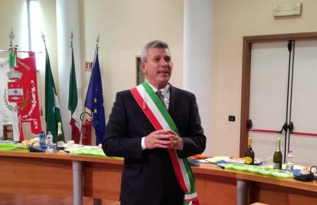 """Il """"manifesto"""" del sindaco di Bussero letto alle 45mila Sardine"""