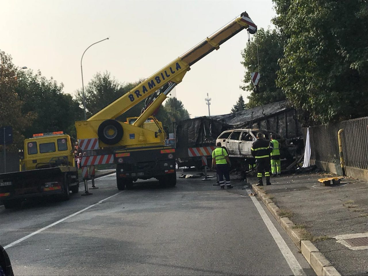 Doppio incidente mortale a Pioltello