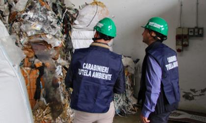 Sequestrate a Milano 2450 tonnellate di rifiuti abusivi VIDEO