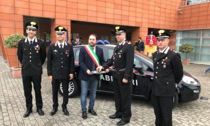 Carabinieri, nuova macchina regalata dal Comune