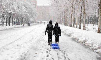 Tutti gli allarmi neve farlocchi in pianura di ieri GALLERY