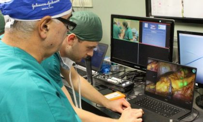 All'ospedale di Treviglio sono in corso due operazioni chirurgiche in diretta mondiale