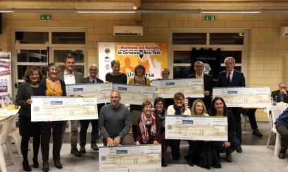 Lions, donati in beneficenza i 30mila euro della Maratona del Naviglio FOTO