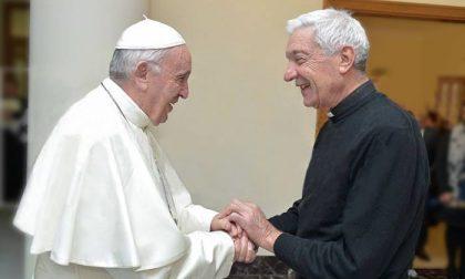 A tu per tu con Papa Francesco per don Silvio
