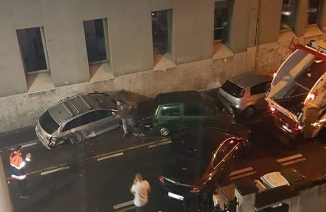 incidente via oslavia sesto san giovanni
