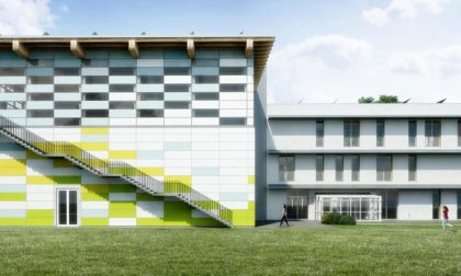 Il ministro Bussetti a Liscate per la prima pietra della nuova scuola