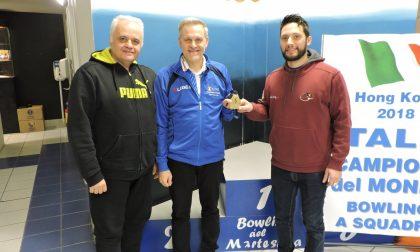 Bowling, i campioni del mondo si allenano in Martesana