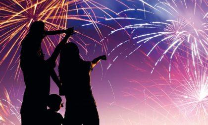 Fuochi d'artificio autorizzati... a tempo