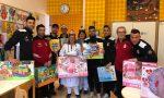 Natale in Pediatria: il sorriso lo portano i calciatori della Pioltellese