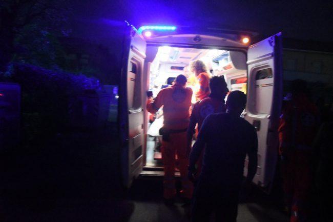 Incidente in Tangenziale, sei persone soccorse SIRENE DI NOTTE