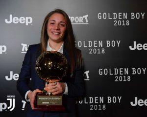 Golden Girl, è una melzese la migliore calciatrice under 21 d'Europa