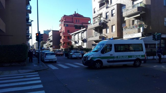 incidente sesto san giovanni polizia locale