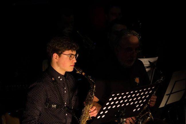 miglior allievo dell'anno cernusco sul naviglio sassofonista Davide Tamiozzo